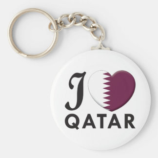 Qatar Love Key Ring