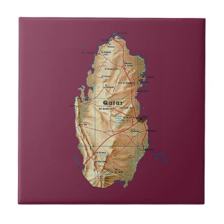 Qatar Map Tile