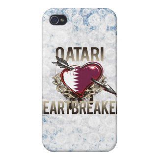 Qatari Heartbreaker iPhone 4 Cover