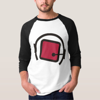 qb Cubes In Space Adult 3/4 Sleeve Shirt