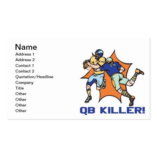 QB Killer Business Card Templates