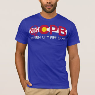 QCPB Colorado Pride W/text T-Shirt
