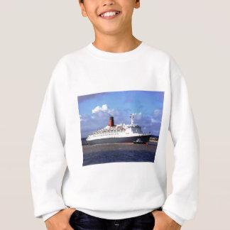 QE11 On the River Mersey, Liverpool UK Sweatshirt