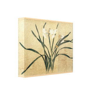 Qian Xuan Eight Flowers National Palace Museum Canvas Prints