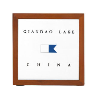 Qiandao Lake China Alpha Dive Flag Pencil Holder