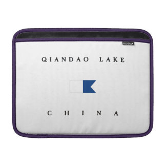 Qiandao Lake China Alpha Dive Flag MacBook Air Sleeve