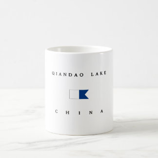 Qiandao Lake China Alpha Dive Flag Mugs