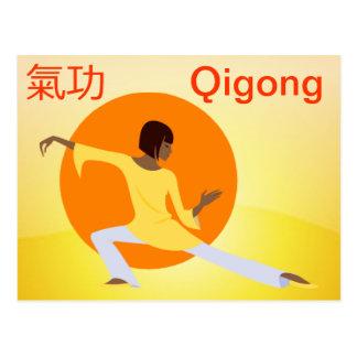Qigong postcard
