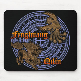 Qilin & Fenghuang Mouse Pads