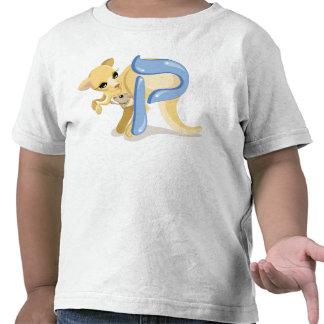 Qof Hebrew Aleph Bet Alphabet Kangaroo T-Shirt