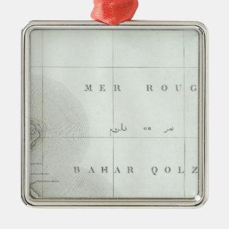 Qosier, Egypt Silver-Colored Square Decoration
