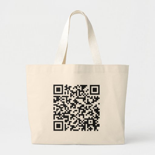 QR Barcode: Got the guts to scan me..... Bag