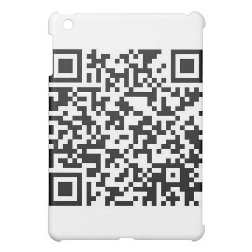 QR Barcode: Got the guts to scan me..... iPad Mini Cases