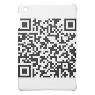 QR Barcode Got the guts to scan me iPad Mini Cases