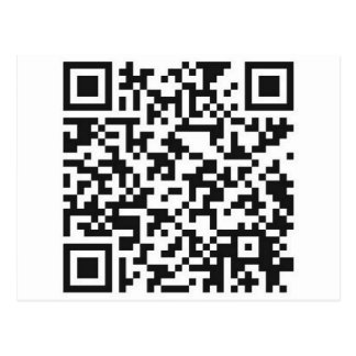 QR Barcode: Got the guts to scan me..... Postcard