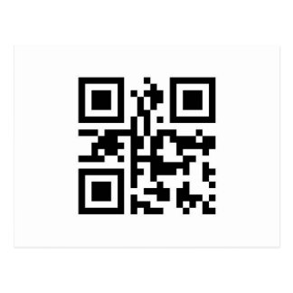 QR Barcode: Have a nice day! Postcards