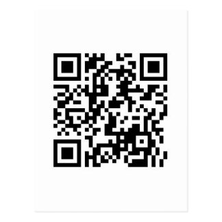 QR Barcode If this scan makes you smile, show me! Postcard