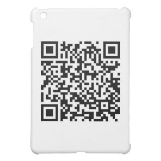 QR Barcode Now you ve scanned me Cover For The iPad Mini