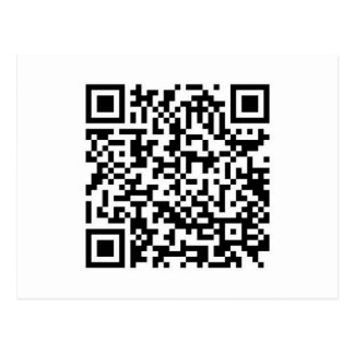 QR Barcode Now you ve scanned me Post Card
