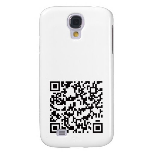 QR Barcode Scannable Square Samsung Galaxy S4 Cover