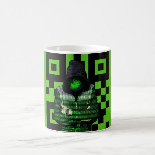 QR Binary Coffee Mug