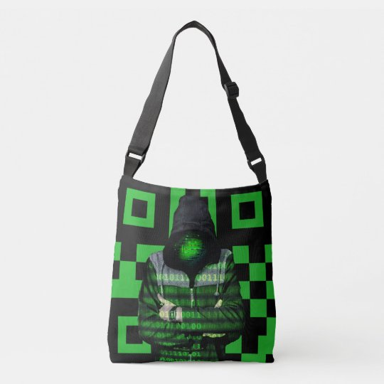 QR Binary Crossbody Bag
