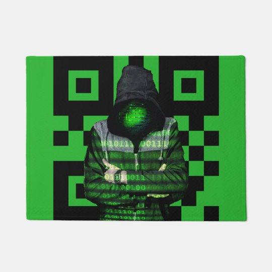 QR Binary Doormat