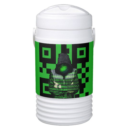 QR Binary Drinks Cooler