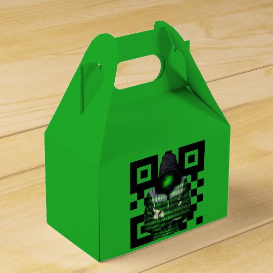 QR Binary Favour Box