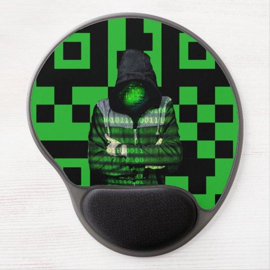 QR Binary Gel Mouse Mat