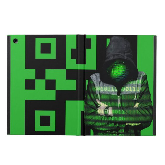 QR Binary iPad Air Case