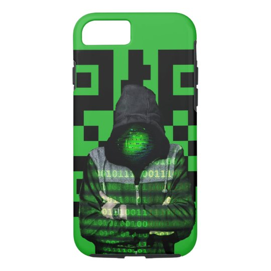 QR Binary iPhone 8/7 Case