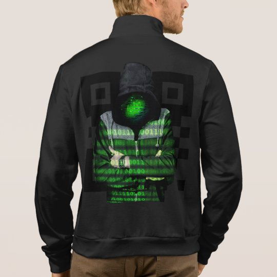 QR Binary Jacket
