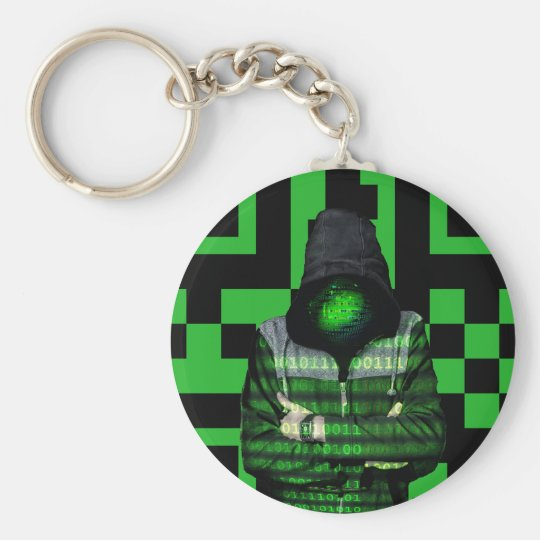 QR Binary Key Ring