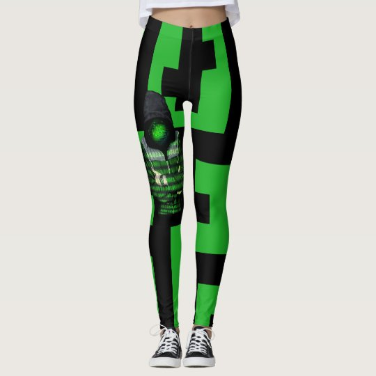 QR Binary Leggings