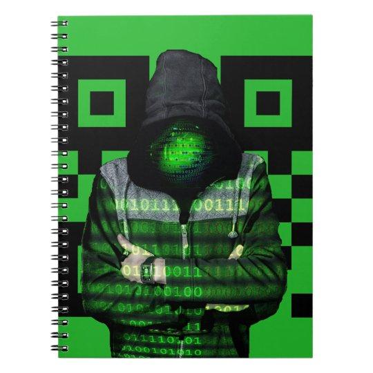 QR Binary Notebook