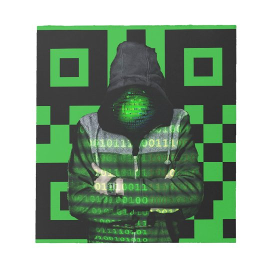 QR Binary Notepad