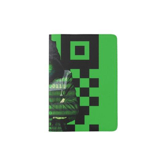 QR Binary Passport Holder