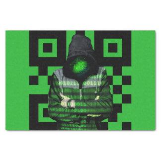QR Binary Tissue Paper