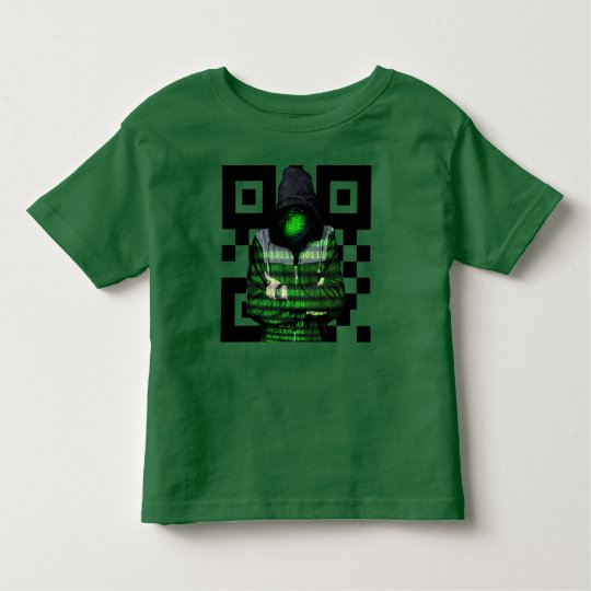 QR Binary Toddler T-Shirt