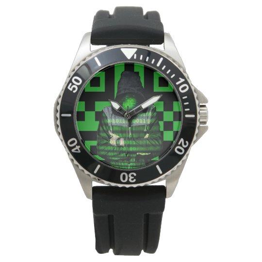 QR Binary Watch