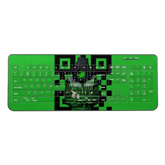 QR Binary Wireless Keyboard