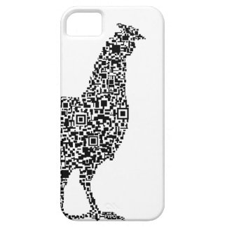 QR CHICK (White) Barely There iPhone 5 Case
