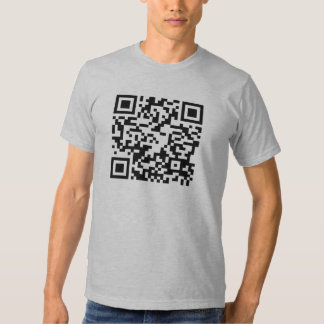 QR Code - Android and iphone scannable shirt! Shirts
