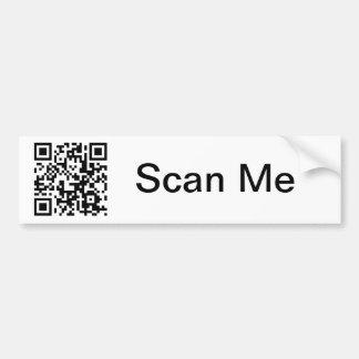 QR Code Bumper Sticker