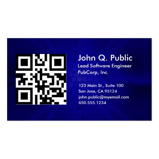 how to create your own qr code for business cards