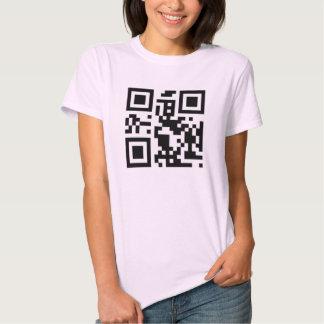 "QR code ""call me"" t-shirt"