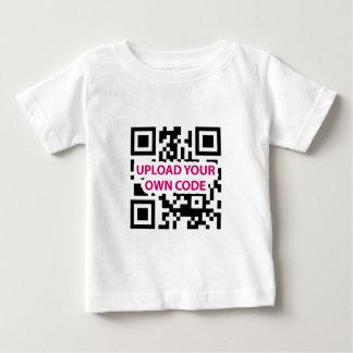 QR Code Customizable Baby T-Shirt