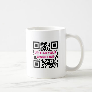 QR Code Customizable Basic White Mug
