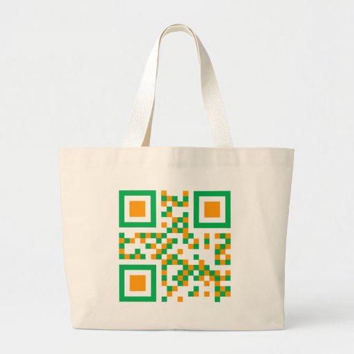 QR-Code-Eire Bag